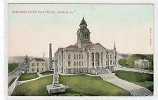 WINNESHEIK COUNTY COURT HOUSE, DECORAH: Iowa USA postcard (C23801)