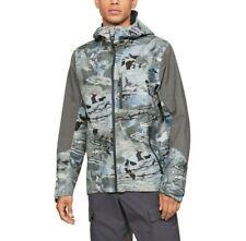 Nwt Under Armour UA Shoreman Rain Jacket Mens Hydro Camo Goretex Waterproof sz L