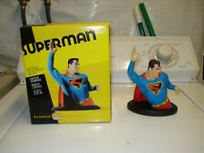 DC DIRECT CLASSIC SUPERMAN MINI-BUST, SCULPTED by TIM BRUCKNER,GREAT EYE APPEAL