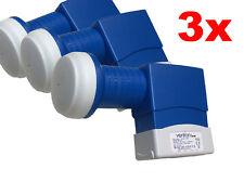 3x Venton Digital Quattro LNB für Multischalter Multiswitch 0,1db HDTV 3D 4K HD