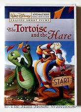 Tortoise and the Hare Paul Bunyan Silly Symphonies Classic Disney Cartoons DVD