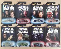 HOT WHEELS STAR WARS MASTER & APPRENTICE COLLECTION CHOOSE YOUR MODEL CAR 1:64