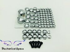 NEW Chrome Bolt Caps Topper Cover For Harley Davidson Softail Twin Cam 2007-2013
