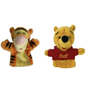 Vintage Disney Mattel Winnie The Pooh Tigger Stuffed Plush Hand Puppet Arco Toys