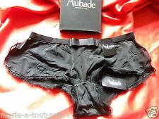 AUBADE SHORTY DISCOURS AMOUREUX E970 NOIRTAILLE 2 38/40 A OFFRIR DANS SA BOITE
