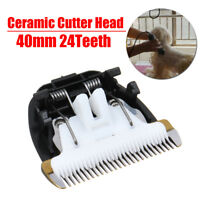 Replacement 24 Teeth Ceramic Cutter Head For Animal Pet Hair Clipper Trimmer