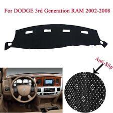 Dashmat Dashboard Mat Dash Cover Carpet For DODGE RAM 1500 2500 3500 2002-2008
