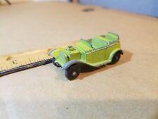 Green Metallic Roadster Tootsie Toy Tootsietoy U.S.A. #2 vintage car v8