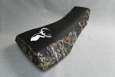 Arctic Cat 250 300 454 2002-2006 Elk Logo Black Top Camo Sides Seat Cover #wswfv