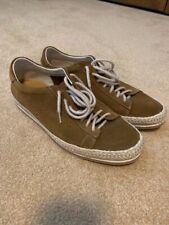 Men's Pajar Suede Espadrille Sneaker Medium Brown US Size 9