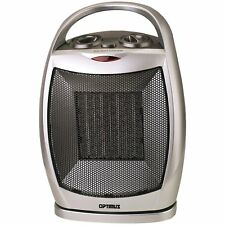 Oscillating Ceramic Floor Heater Space Electric Portable Energy Efficient Home