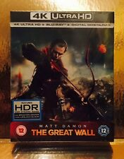 STEELBOOK Blu-ray THE Great Wall [ Zavvi Limited 4 K  ]