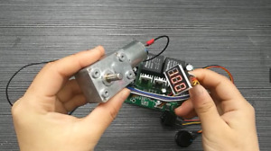 PWM Drehzahlregler DC-Motor Digitalanzeige 0~100% einstellbar Eingang MAX60A 12V
