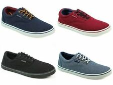 Canvas Trainers Solid Athletic Shoes for Men