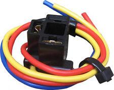 2 X H4 (472) BULB HOLDER  BULBS CAR AUTO HOLDERS 3 WIRE HEADLIGHT HEADLAMP