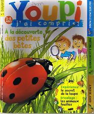 Revue YOUPI 239 Petites bêtes loupe   magazine documentaire enfant 5 / 8 ans