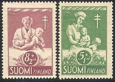 Finland 1946 Tuberculosis/TB/Nurse/Medical/Health/Welfare/Children 2v set n41799