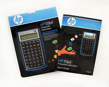 Hp 10bll Financial Calculator & Complete User's Guide Manual - Never Used