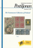 Gummesson Collection of Classic Finland, Postiljonen Auction Catalog, Sale 221