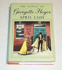 GEORGETTE HEYER: APRIL LADY, HARDBACK UK PUBLISHED