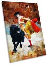 Obras de arte de Pared De Lona torero español REPRO retrato de impresión de arte
