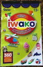 Darice Iwako Japanese Eraser Sticker Book 360 Pieces 2011