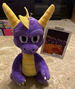 """Spyro the Dragon 8"""" Plush Toy Free Shipping!"""