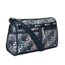 LeSportsac Classic Deluxe Shoulder Satchel Bag Crossbody in Faraway Floral NWT