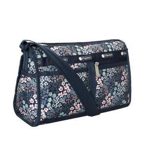 LeSportsac Classic Deluxe Shoulder Satchel Bag Crossbody in Faraway Floral NWT