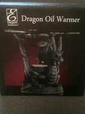 🔴NEW! ELEGANT EXPRESSIONS BLACK DRAGON OIL WARMER / SCENTED OILS BY HORSLEY