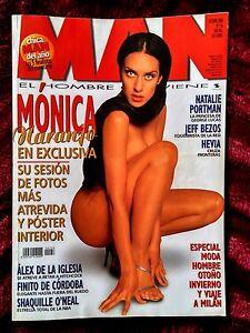 MONICA NARANJO Revista MAN Octubre 2000 Nº 156 POSTER Desplegable Mónica - NUEVA