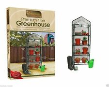 Kingfisher Gardening - 4 Tier Greenhouse Grow House for Garden Plants