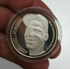 1994 MICHAEL JORDAN .999 Silver Coin Birmingham Barons LIMITED EDITION No.10531
