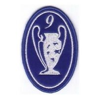 [Patch] CHAMPIONS LEAGUE numero 9 replica cm 5 x 7,5 toppa ricamata ricamo -213