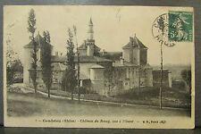 cpa 69 condrieu chateau du rozay vue d'ouest