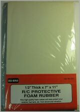 """Du-Bro 514 Protective Foam Rubber 1/2"""" Thick"""