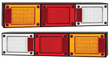 PAIR LED COMBO LIGHTS TRUCK TRAILER SEMI FLOAT J3BARWM