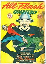 All-Flash #2 G- Fall 1941