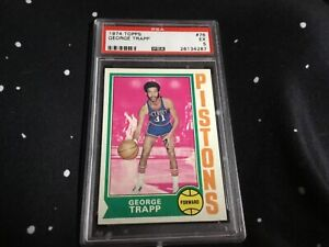 1974 Topps George Trapp PSA 5