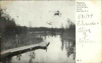 South Seaville NJ Magnolia Lake c1905 Postcard