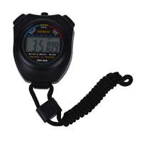 Digital-Chronograph Sport Stoppuhr mit einem Umhaengeband A5G9
