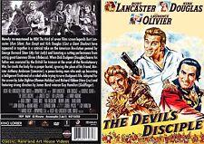 The Devil's Disciple ~ New DVD ~ Burt Lancaster, Kirk Douglas (1959)