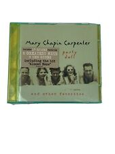 """MARY CHAPIN CARPENTER """"PARTY DOLL"""" MUSIC CD in Original Case!"""