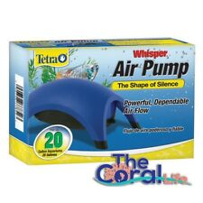 TETRA WHISPER 20 AQUARIUM AIR PUMP - UL LISTED