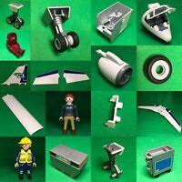 Playmobil Ersatzteile aus 5261 Passagierjet Jet Flugzeug  Airliner Tower #PM66