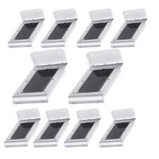10STK. 16LEDs Solarlampe Bewegungsmelder Wandleuchte Außen Sensorlicht Strahler