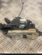 2001 2.5 V6 JAGUAR X TYPE SALOON PASSENGERS LEFT REAR DOOR LOCK CATCH MECHANISM