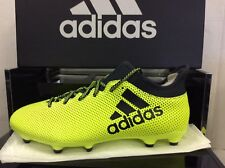 Adidas X 17.3 FG pour Homme Football Soccer bottes chaussures, taille UK 9/EUR 43