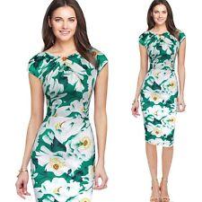 Elegant Women Slim Bodycon OL Business Office Formal Party Evening Pencil Dress