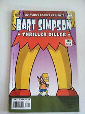BART SIMPSON COMICS #18 - Thriller Diller - Bongo 2004